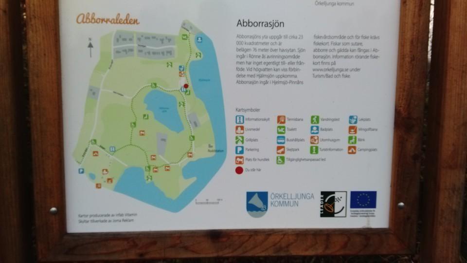 Karta - Hjälmsjön